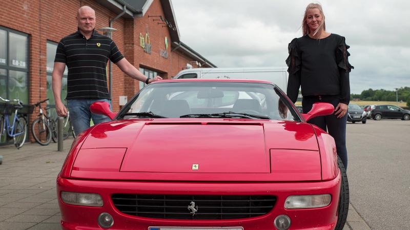 Ferrari Event med et godt formål.