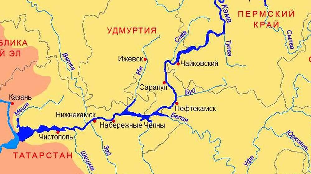 Удмуртия на карте россии где находится