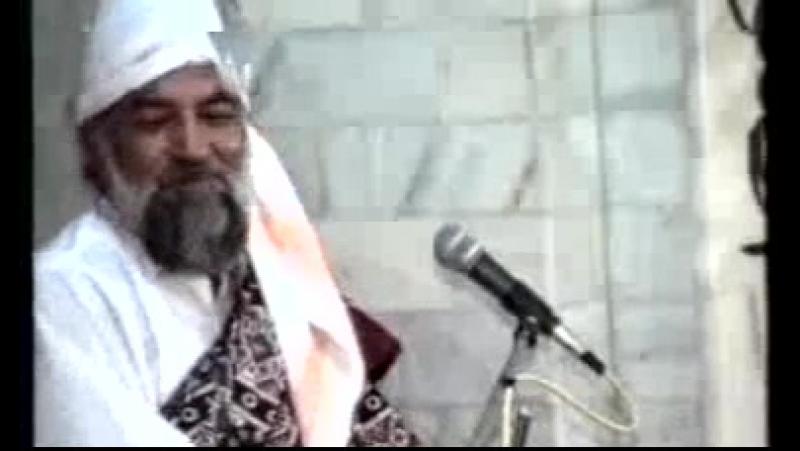 His Majesty Sayedina Riaz Ahmad Gohar Shahi(M.A) addressing in jashan-e-jillani 1993