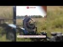 В Саратовской области житель села соорудил самодельный мини-трактор!