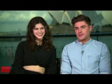18.05.2017 - Interview- Zac Efron and Alexandra Daddario