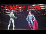 INJUSTICE 2 Finish Him Easter Egg Mortal Kombat Reference