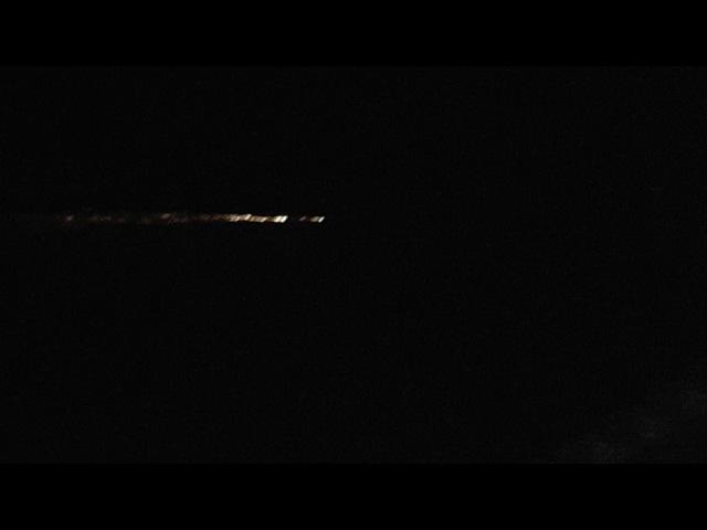 Вход в атмосферу последней ступени «Чанчжэн-7»