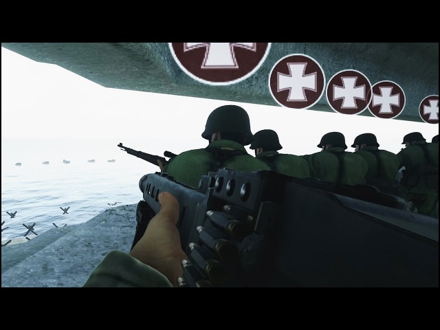 INSANE 100 PLAYER OMAHA BEACH EVENT - Days of War Gameplay - New WW2 Shooter