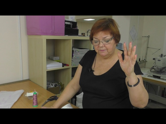 Учимся вметывать рукав реглан Удлиненная рубашка часть 4