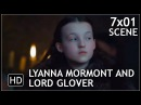 "Game of Thrones 7x01 ""Lyanna Mormont and Lord Glover"" Scene Season 7 Episode 1 (HD)"