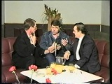 Александр Новиков и Вилли Токарев в программе Станислава Малозёмова. Алма-Ата.1996 г.Архив ТВ