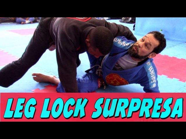 Leg Lock - Contra ataque da quebra de quadril - HST Jiu Jitsu