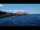 Крым, Судак, пляж, набережная и Кипарисовая аллея в начале июня 2017