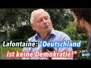 Oskar Lafontaine: Deutschland ist keine Demokratie, sondern eine Oligarchie