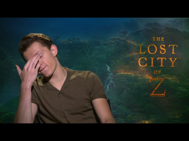 TOM HOLLAND The Lost City of Z Raw Interview