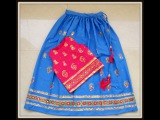 ETHNIC FLARED LONG SKIRT  with CROP TOP LEHENGA #  3