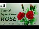 Stocking Flowers | Nylon Rose Flower making | Nylon Flower 2018 | DBB