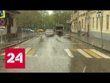 Водитель BMW, избивший женщину в центре Москвы, дает показания