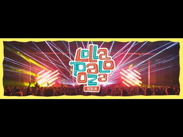 Lollapalooza Berlin Treptower Park 10-11.09.2016