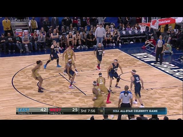 NBA FULL GAME - All-Star Celebrity Game 2017 - February 17, 2017