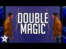 Magicians Les French Twins DOUBLE-UP on America's Got Talent