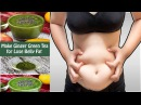 How to Make Green Ginger Tea For Belly Fat Home Remedy for Lose Belly Fat Fast Naturally WLT
