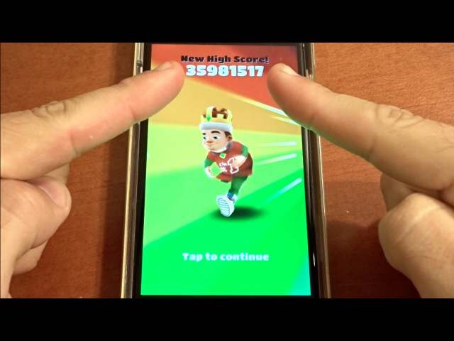 Over 35 Million Points on Subway Surfers NO HACKS OR CHEATS