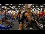Тренировка мышц спины  Далер Исматов