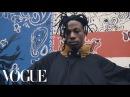 Joey Bada$$ Talks Style, Activism, and Crystals
