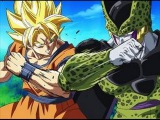 Goku and Cell Fight at Maximum Speed (Original Japanese)