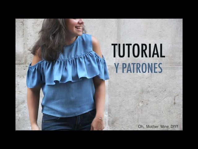 DIY Como hacer blusa de mujer (patrones gratis)