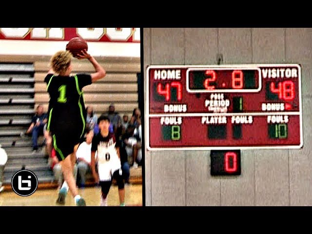 LaMelo Ball HALF COURT BUZZER Beater For Big Ballers!! 1st Game After Compton Magic Loss