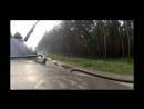 Момент попадания снаряда гранатомета в БТР-80 - Красный Лиман 03.06.2014