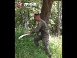 В армии всегда найдут тебе полезное занятие ?