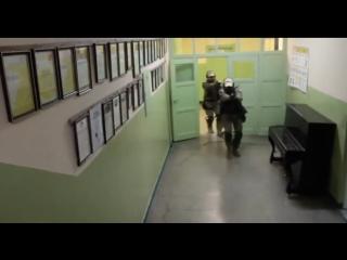Суровая тренировка спецназа