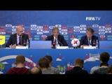 Пресс-конференция Кубка Конфедераций 2017  FIFA Confederations Cup 2017 - Half-time press conference  Английский язык