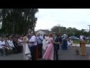 Выпускной. Замостянская средняя школа. 23 июня 2017 г. танец с родителями.
