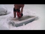 Как встречают первый снег в Норвегии