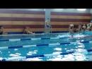 Первое соревнование Ала Чойган по плаванию. 50 м свободным стилем.