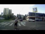 Пропустил пешехода, получил благодарность