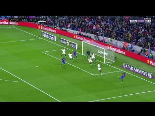 Барселона 2:0 Севилья. Гол Месси