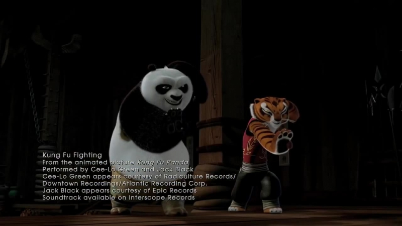 Кунг фу Панда Kung Fu Panda 2008 Cee Lo Green Jack Black Kung Fu Fighting