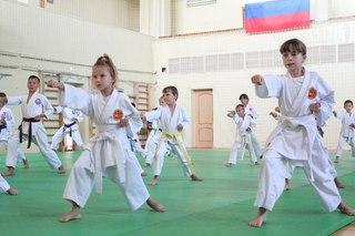 Межрегиональный обучающий семинар для воспитанников секции карате