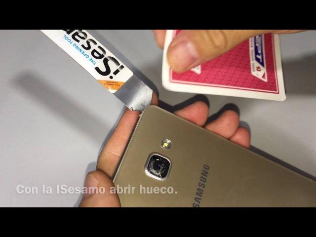Cambiar Camara trasera Samsung A5 2016 sin romper la tapa