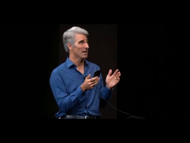 На презентации iPhone X функция распознавания лица владельца дала сбой, 12 сентября 2017 года