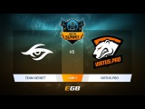 Team Secret vs Virtus.pro G2A, Game 4, DOTA Summit 7 LAN-Final, Day 5