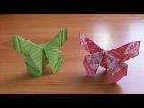 Простые Оригами Поделки БАБОЧКИ Для Открыток. Закладки. Как Сделать Быстро Свои ...