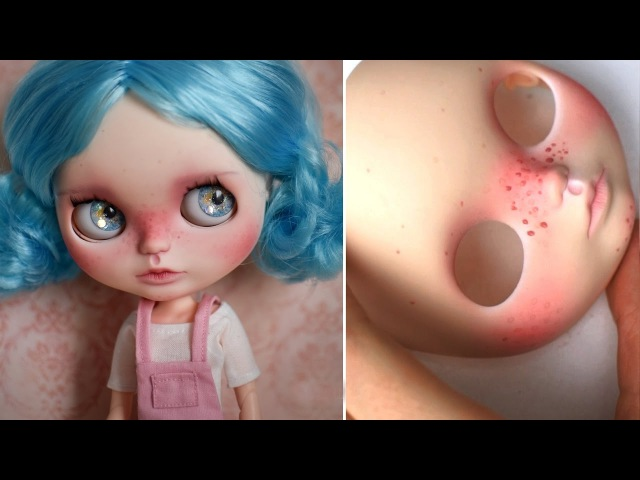REPAINTING A BLYTHE DOLL