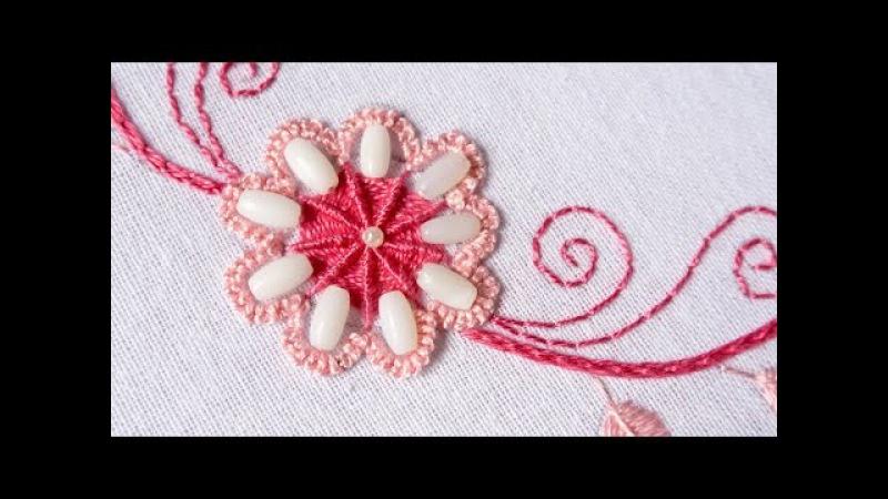 Embroidery Designs for Neckline | DIY Stitching Tutorial | HandiWorks113