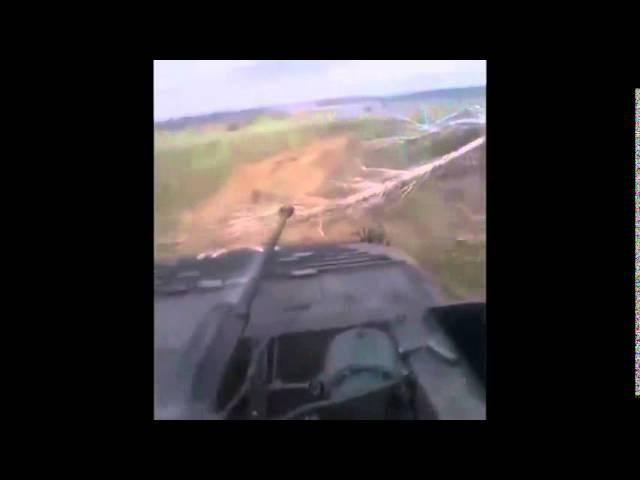 ВСУ Работает с 2А42 по Ополченцам Новости Новороссии War in Ukraine