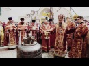 Поднятие колокола на звонницу Свято-Никольского кафедрального собора г.Новогру...