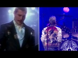 Adam Lambert and Freddie Mercury sings