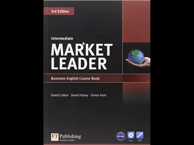 Pearson Market Leader Intermediate Audios CD1 and CD2. Tracks in the description