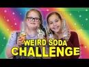 Weird Soda Challenge! (Sarah Grace vs Olivia Haschak)